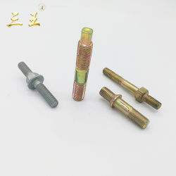 Typen Schnitt-Schrauben-des doppelten Enden-Stift-Doppelten beendeten Schraubbolzen-Hochleistungsmuttern - und - Schrauben