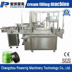 セリウムの証明の熱い販売の包装機械表面クリームのびんの満ちるキャッピング機械