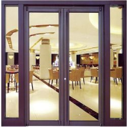 Portelli standard australiani della lega di alluminio e portello scorrevole della cucina di vetro del doppio della fabbrica di Windows