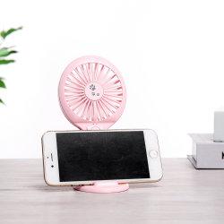 bewegliche Einstellung 800mAh USB-nachladbarer Ventilator für Kinder