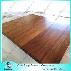 Comptoir en bois massif Butcher bloc fournisseur Plan de travail haut de table