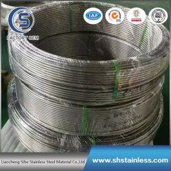 316L нержавеющая сталь сшитых спиральным трубы и стальные трубы для нефти и газа