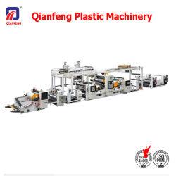 자동적인 두 배는 PE PP 플라스틱 길쌈하는으로 CPP BOPP를 위한 박판으로 만드는 기계를 입히는 밀어남 기계 편든다