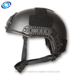 ケブラーの軍の戦術的なヘルメットの多色刷りの弾道防弾速いヘルメット