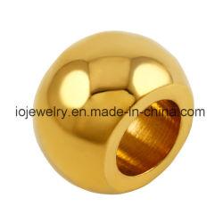 18K 금에 의하여 도금되는 스테인리스 둥근 구슬