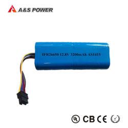 26650 LiFePO4 充電式リチウム 12V 3200mAh バッテリ(保管 LED 照明用