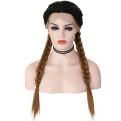 رخيصة بيع بالجملة 100% علبيّة طبيعيّ [هومن هير] لمم, اصطناعيّة [برزيلين] [هومن هير] شريط أماميّ لمة جديلة شعر