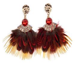 Nouvelle conception de bijoux populaires de plumes Earring Earring Feather Earrings simple et généreux partie Bohemian Holiday