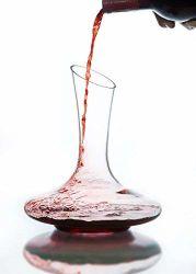 100 % Handgeblasene Bleifreie Kristallglas-Weindekane, Weinzubehör