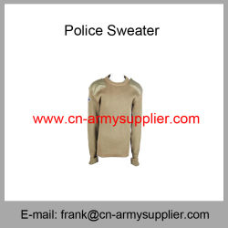 Pullover-Jumper-Polícia Militar Sweater-Army Suéter Sweater-Military