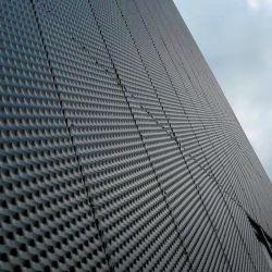 Folha de metal expandido para a fachada do prédio