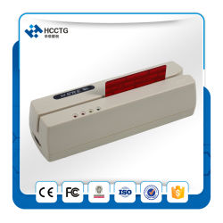 RS232 Interface Mini Msr206 قارئ بطاقات ممغنطة (HC206R)