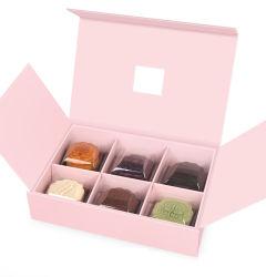 6-pack Mooncake boîte cadeau gâteau de lune de l'hôtel emballage, le Gâteau Emballage, Cookie Box, boîte de thé