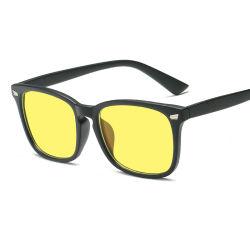 2019 Últimas China Nuevo Modelo de gafas de alta calidad marco de la moda del diseñador de la marca óptica barata Hombres Mujeres Logotipo personalizado 400 UV contra el bloqueo de la lente de la luz azul gafas