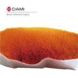 Color naranja cónico sólidos Química PBT suave Pincel cónico filamentos que se utiliza para el artista pintura descriptiva Pestañas postizas de lavado de cara de alimentos haciendo cepillos