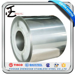 Prix compétitif laminé à froid de classe 304 201 en acier inoxydable 316L dans la moitié de la bobine de cuivre Ddq