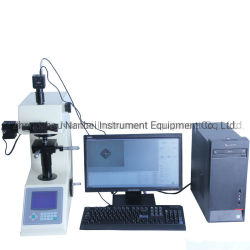 Probador de dureza Vickers Micro laboratorio