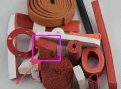 Zachte EPDM Silicone Rubber Profile Seal in u-Vormig