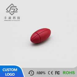 Mignon dessin animé de la forme de Football de soccer en plastique lecteur Flash USB