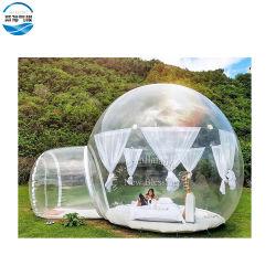 De opblaasbare Huizen van de Tent van de Bel, de Tent van de Koepel met Tunnel voor Verkoop