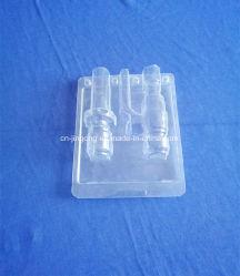 Confezione blister in plastica personalizzata con guscio in PVC (blister) Scatola di confezionamento clamshell blister in plastica trasparente (contenitore in PVC)