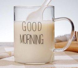 Cristalería - Tazas con asa, perfecto para el agua, leche, la bolsa de té, bebidas