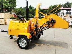 40HP Auto découpeuse à bois hydraulique de puissance, broyeur de bois Chipper Dwc-40