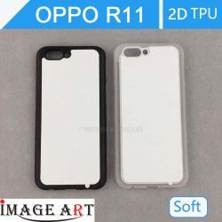 昇華ブランク熱伝達の印刷のための第2 TPUの電話箱またはカバーとOppo R11