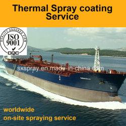 석유 산업을%s 저장 탱크 이동 파이프라인 그리고 유조선 선체를 위해 가공하는 오래 견딘 방어적인 지상 코팅