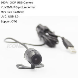 camera van het Web 960/1080P HD 30fps de Digitale MiniUSB met Vrije Bestuurder voor ATM Machine&Kiosk