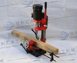 Capacité de la machine avec un burin Morticers 6-12mm et Max. Perforation 76mm de profondeur le bois à rainure et languette Mortiser chaud de la machine de la faucheuse pour chaise de salle à manger