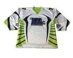 Reversible caliente personalizado de sublimación de tinta Ice Hockey Jersey portero/equipo de Hockey sobre Hielo prendas de vestir