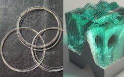 Asa de alambre de diamantes de corte de vidrio, cristal perfecto cortador, nueva herramienta de corte de vidrio