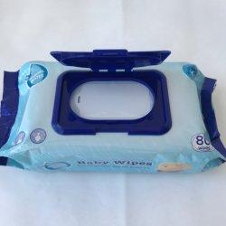 Toallitas de bebé bebé orgánica las toallitas húmedas de etiqueta privada de las toallitas húmedas Factory