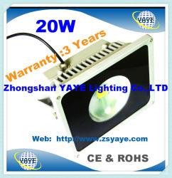 Yaye 18 Best Sell CE/RoHS COB 20W LED 투광 조명 20W LED 투광등/20W LED 프로젝터(3년 보증