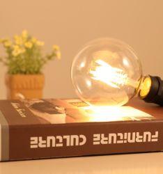 중국 제품 6W LED 램프 G125 LED 필라멘트 전구