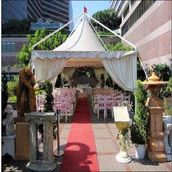 تصميم خيمة زفاف فاخرة متعددة التزيين بحفلة (Aomei 1020)