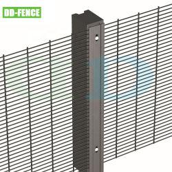 Galvanisé à chaud de haute qualité de feux de croisement de haute sécurité clôture anti montée