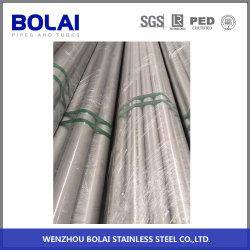 Tuyau en acier inoxydable 304L pour l'industrie chimique avec une haute qualité