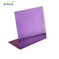 Tampo de Aço Inoxidável Design metálico Personalizado Memo Branco Lapboards Desktop Board Placa magnética de apagamento de Seca