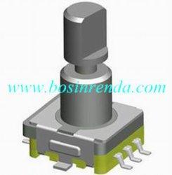 Interrupteur de réinitialisation de 11mm Commutateur rotatif pour mixer, Amplificateur de puissance (RS1102)