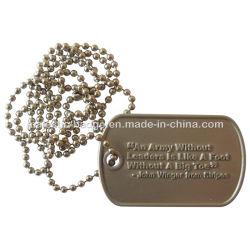 Серебряный покрытие военных подвесной Гц 1001 P010