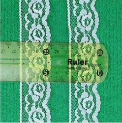 La Dentelle Non-Elastic en nylon pour sous-vêtements, Lasa Niolon, africains Fancy Txtile robe dentelle tissu en nylon