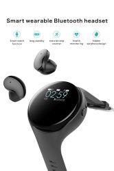 Braccialetto standby astuto Smartwatch di forma fisica di molto tempo del Wristband della vigilanza di Ai di sport della cuffia di Bluetooth del video astuto di frequenza cardiaca