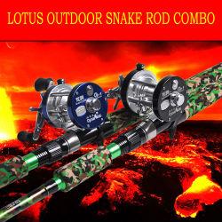 Superstrongのヘビの棒のコンボのオーバーヘッド巻き枠