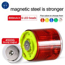 Indicatore luminoso di Frequencyflash i veicoli leggeri del tassì, indicatore luminoso d'avvertimento dell'auto privata lampeggiante d'acciaio magnetici del magnete