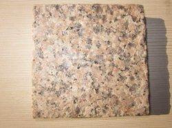 G367-chão de pedra de granito rosa telhas