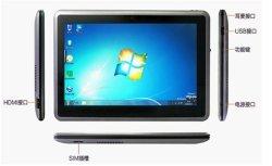 Hot-Selling 10,1 polegadas Windows 7&o Android 2.3 Tablet PC com processador Intel Atom N570 com núcleo duplo
