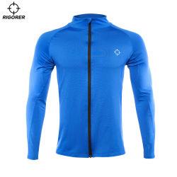 De forma personalizada de roupas de compressão desgaste ativo para homens com tecido elástico