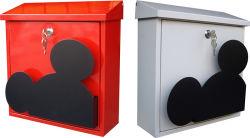 صندوق ورق صندوق بريد مطلي بمسحوق الفأر مطلي على الحائط